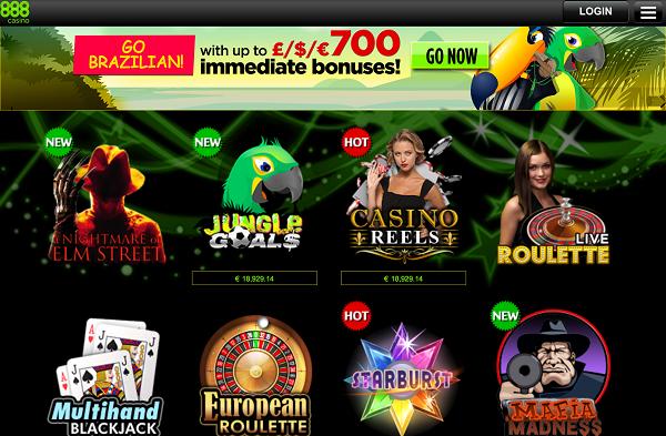 Meld je aan bij 888 casino en speel gokkasten op de Ipad of Ipad Air
