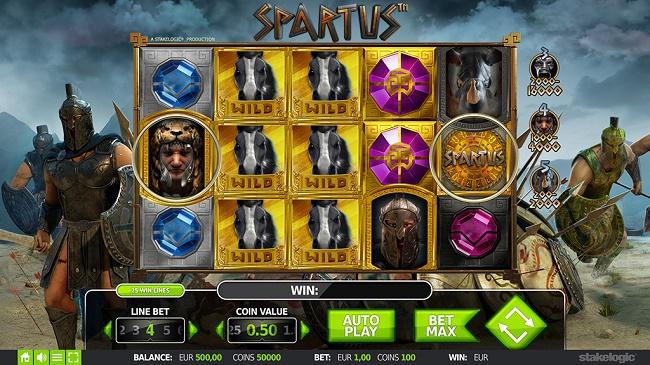 spartus 360 slots stake logic