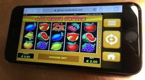 mobiel gokken op iphone