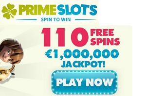 primeslots free spins110 bonus